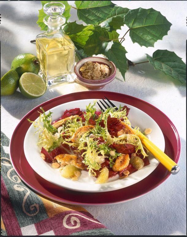 Salat mit putenstreifen diat rezept