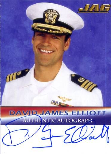 "David James ELLIOTT (Commander ""HARM"" Robb Jr)"