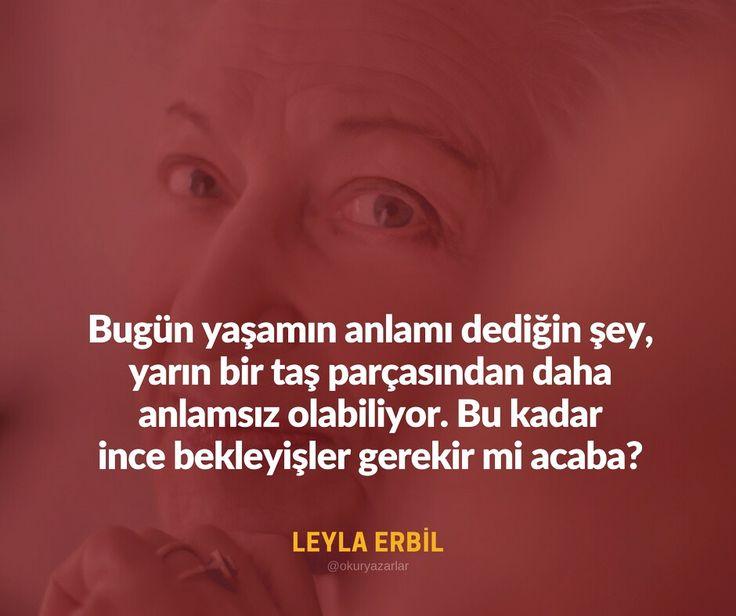 * Leyla Erbil