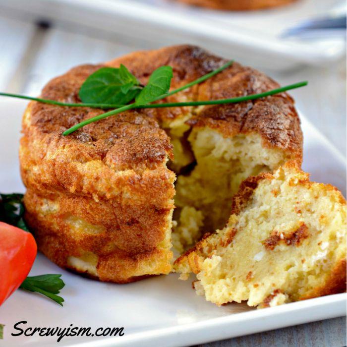 Tillamook Cheese Souflle