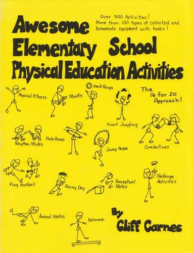 Elementary School P.E. Activities for students to pick what they want to do