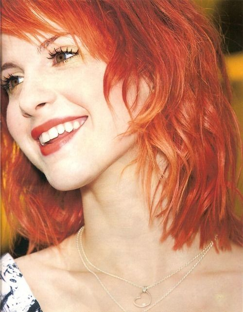 Dang it. Why is she so awesome?  Hayley Williams