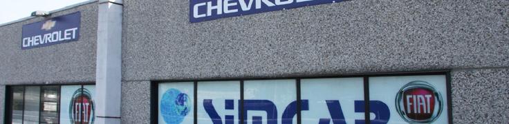SIMCAR srl dal 1967 concessionaria di riferimento sul territorio spezzino per il commercio di autovetture Fiat.