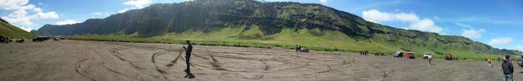Savana hill ~ bromo mountain