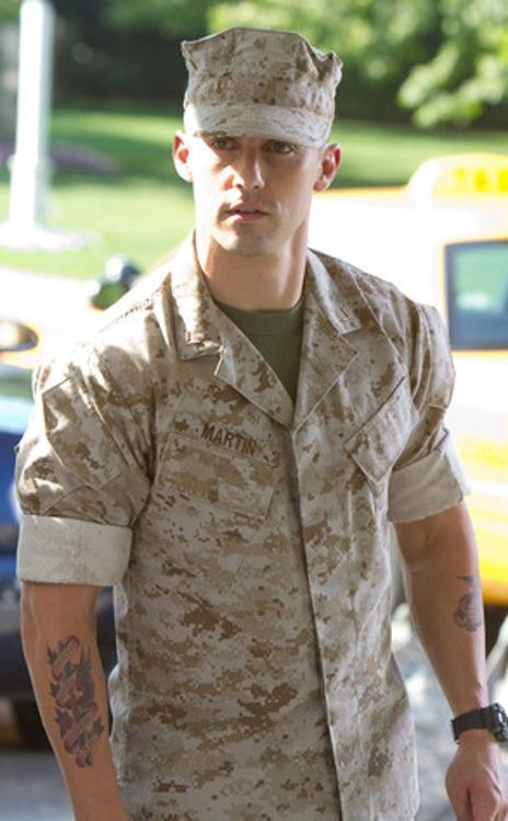 Actor Milo Ventimiglia~ Playing as a hot Marine!