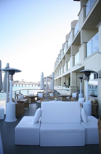 The Oceanfront Terrace At Malibu Beach Inn Is Available For Holiday Parties Corporate Events