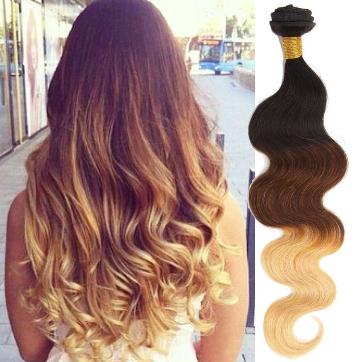 Ombre Human Hair Extension 50G/PC 12 -30  Brazilian Wave Hair For Au Women New