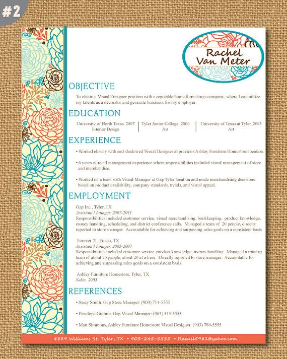 33 best Resume and portfolio ideas! images on Pinterest Cover - fashion design resume