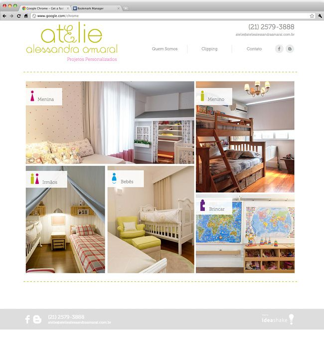 Amazing Websites By Interior Designers That Prove Web Spaces Can Look Just As Good Home Decor