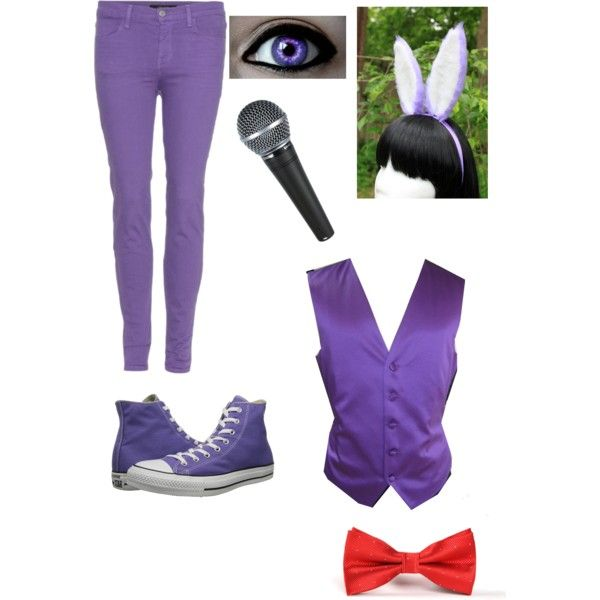 polyvore bonnie fnaf costume | ll most likely be redoing ALL my FNAF outfits
