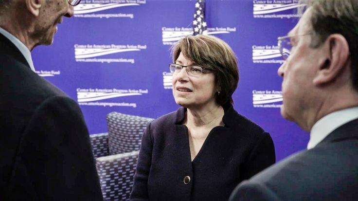 In the history of the United States, there have been 1,917 male senators and only 46 female senators. In a short film, Amy Klobuchar talks about her experience.
