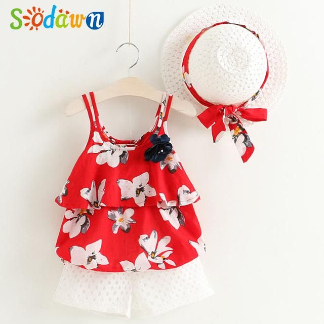 1093f73934c New Summer Girls Clothing Set – Cute dimple