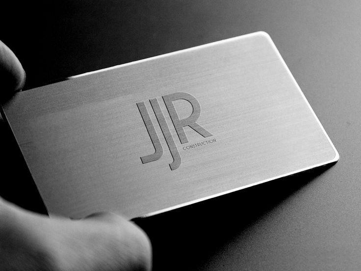 Kostenlose Metall Visitenkarten Günstig Mit Silber Anregung