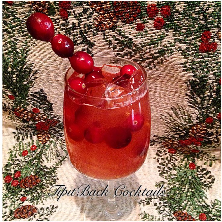 18 best images about christmas cocktails on pinterest for Christmas in a glass cocktail