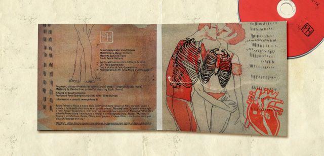 """PH Band """"Elogio alle fragilità"""" CD cover album Artwork by Susanna Doccioli"""