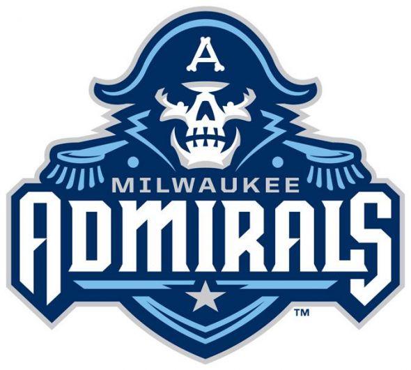 New Milwaukee Admirals logo