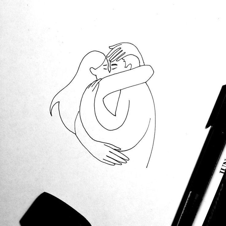Что делаете этим прекрасным пятничным вечером? Я например легла спать в пол 8, потом резко подскочила и побежала ужинать в РУДН  __________________________ #птичий_дневник #ахэтистранныеженщины #иллюстрация #illustration #love #sketch #linedrawing