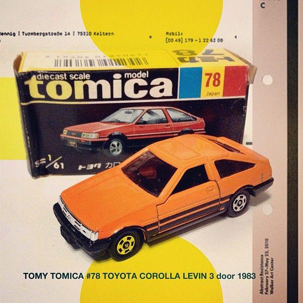 TOMY #TOMICA #78 Toyota Corolla Levin 3 door 1983