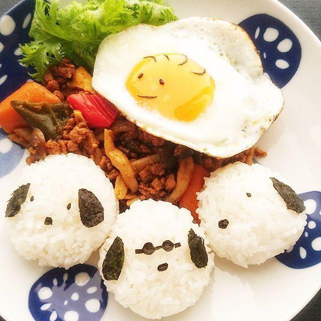 WEBSTA @ aki.suzu - 娘ちゃん#朝食 でおはようございます🍀スヌーピーごはんウッドストック目玉焼きキーマカレー今日は給食ない日なので、#作り置き#お昼ごはん にしようと思ったら、#朝ごはん で食べるって…さて入学式も金曜日に終わり、いよいよ中学生活スタートです✨今週もヨロシクお願いいたします🍀#あさごはん#朝時間#おうちごはん#クッキングラム#デリスタグラマー#Japan#breakfast#lunch#モデル#delistagrammer #lin_stagrammer #ig_japan #igersjp #mamagirl #w7foods #wp_delicious_jp #snapdish #kurashiru#お弁当#おべんとう#春の食卓はじめました #ruhru春のおうちごはんコンテスト #instafollow#followme#instafood