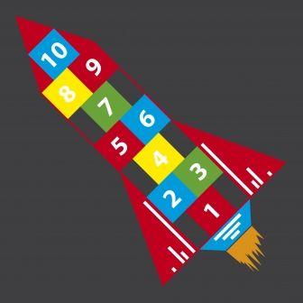 Rocket Hopscotch 1 - 10