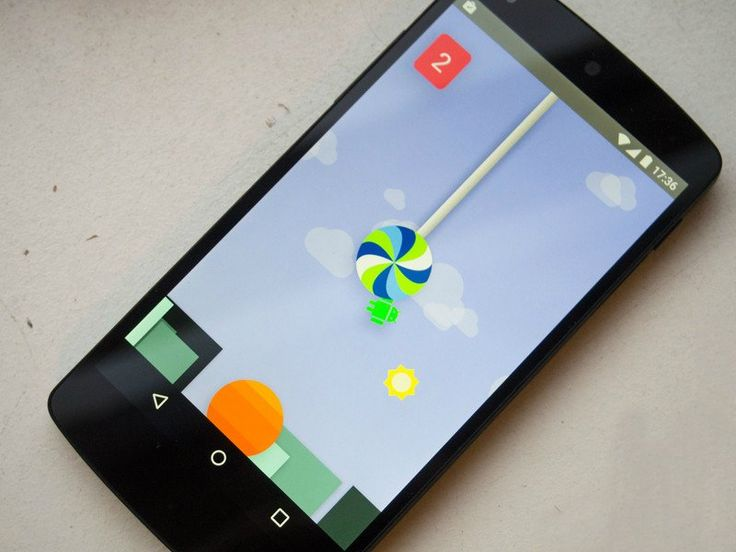 Android 5.0 Lollipop esconde una versión de Flappy Bird