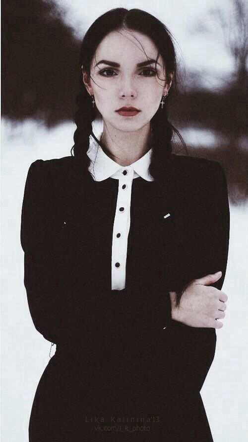Wednesday addams | Gothic Beauties | Pinterest | To be ...