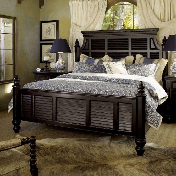 Bayou Breeze Houon Shutter Wood Standard 5 Piece Bedroom