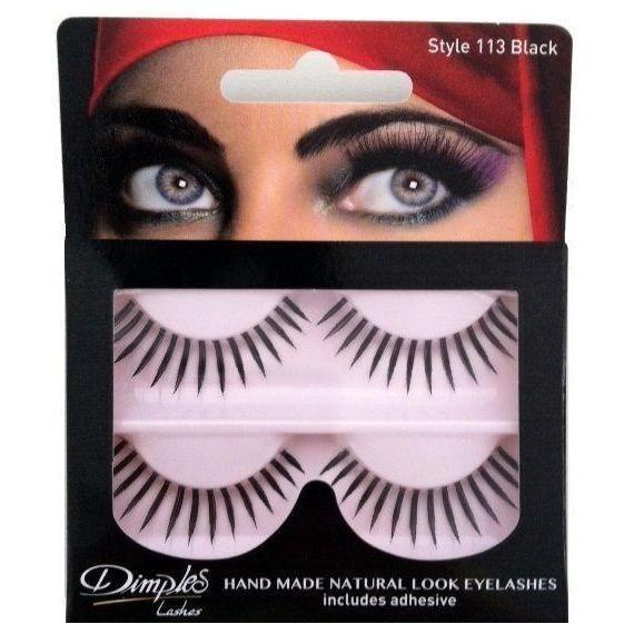 Buy Dimples False Eyelashes 113 Online at Cosmetics4uonline.co.uk - Cosmetics4uOnline.co.uk