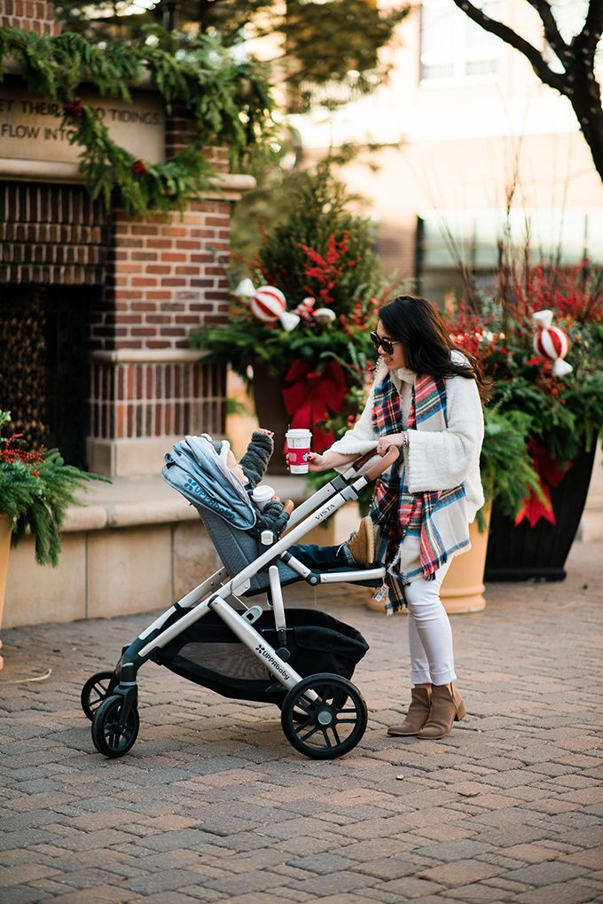 HOLIDAY SHOPPING WITH UPPABABY... Uppababy stroller