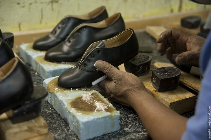 How irish dance shoes are made! This is a really neat article.