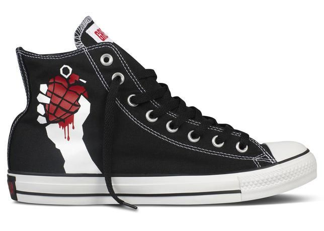 The Converse Chuck Taylor All Star Green Day Sneakers | Pursuit Of Dopeness