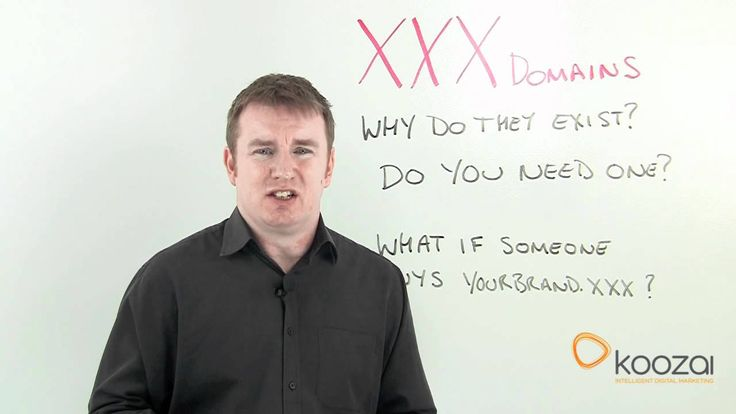 If you've ever wondered why .xxx domains exist and whether you need one to protect your brand online this video explains everything. We also look at what to do if someone buys your .XXX domain.