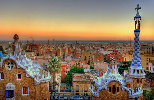 The one place I didn't visit when I studied abroad in Spain. I would love to go back and experience the marvels of Gaudi's buildings.