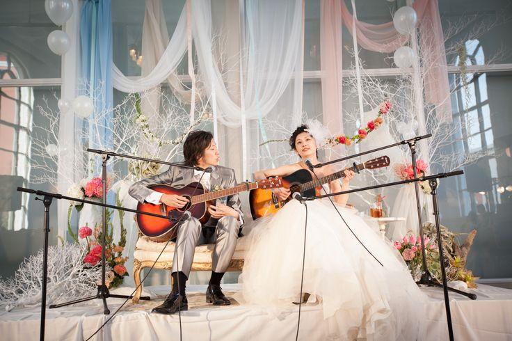 Stage/髙砂 / crazy wedding / ウェディング / 結婚式 / オリジナルウェディング/ オーダーメイド結婚式/ ttp://www.crazywedding.jp/smile/