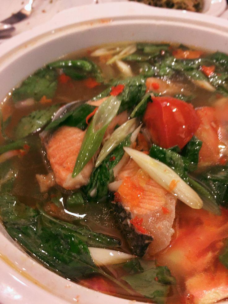 Sop Salmon Kuah Asam