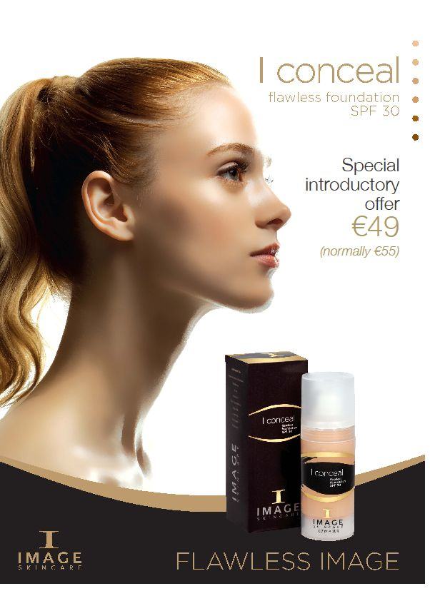 I conceal flawless foundation with spf 30 from image for Absolutely flawless salon