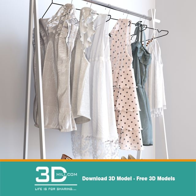 3ds max clothes model free download