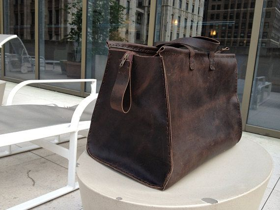 Leather weekender, Mens leather duffle, Handmade leather luggage, Travel duffle bags, Mens overnight bag, Duffle overnight bag, Customizable. More leather travel duffles, travel bags, weekend bags, leather weekender bag, handmade leather bags and leather luggage here: