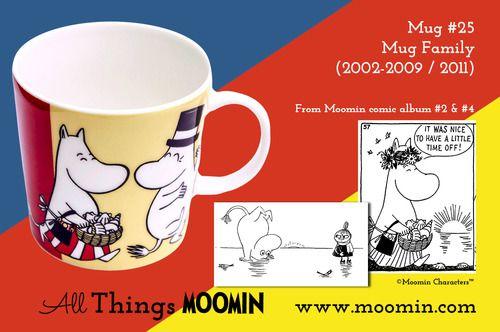 Moomin.com - Moomin mug Family / Familie