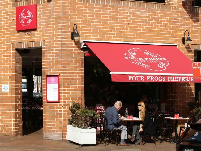 Four Frogs Creperie in Mosman has become an institution.