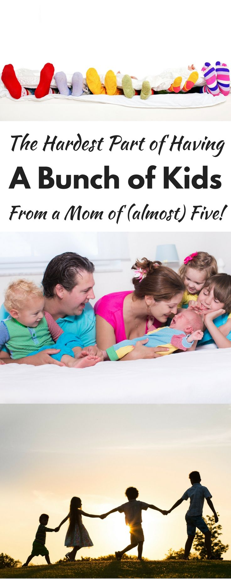 The Hardest Part of Having a Bunch of Kids (From a mom of Almost 5!)