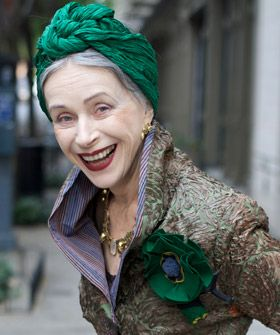 Love the coat and the smaile. :)Fashion, Advanced Style, Old Lady, Street Style, Beautiful, Turban, New Book, Age Grace, Style Blog