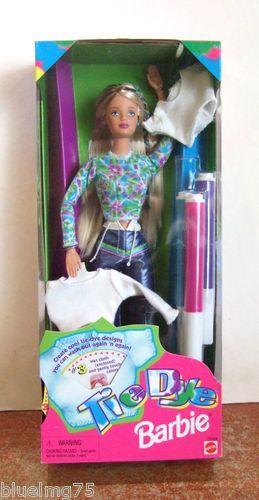 1998 Tie Dye Barbie ★NRFB★ Z201 | eBay