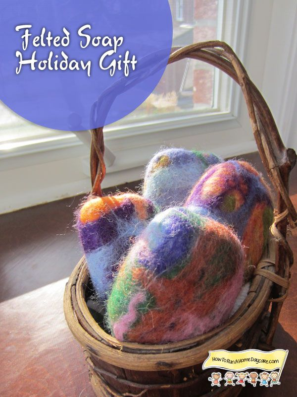 138 best felted soap other soft things images on pinterest great tutorial for felting soap with kids plus lots of holiday gift ideas linked negle Image collections