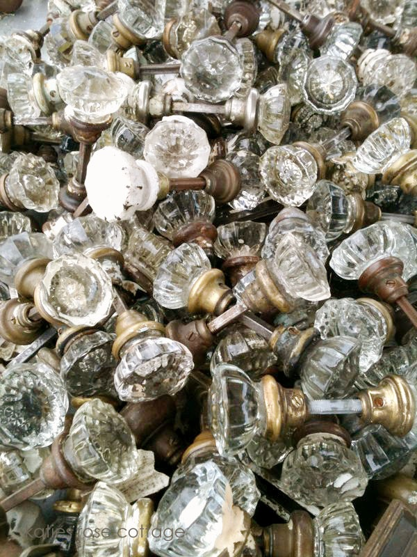 Love vintage door knobs and they are in abundance at this place in Atlanta called Architectural Accents!