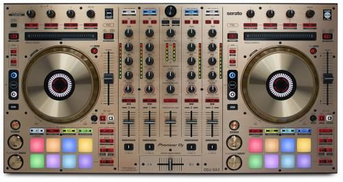 Pioneer DDJ-SX2-N Gold Ltd Edition 4-channel Serato DJ Controller in new Gold Finish