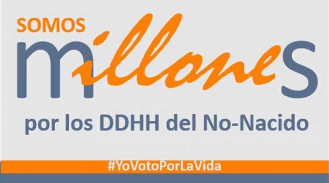 Campaña #SomosMillones / Twitter de Rechaza el aborto