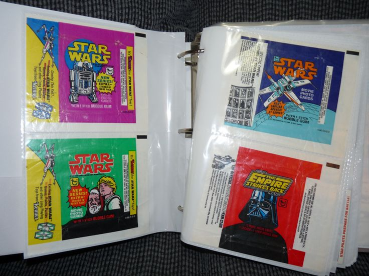 https://flic.kr/p/9mrmxm | Star Wars Card Collection | I have all the vintage sets in this binder, including the card wrappers. Still missing most of the sticker sets.