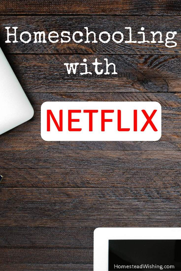 Homeschooling with Netflix is a list of documentaries, with my summary of each. Which can help decide if a movie will be suitable for your children.   http://homesteadwishing.com/homeschooling-with-netflix/   homeschooling-with-netflix, netflix-homeschooling   Homestead Wishing, Author Krisii Wheeler