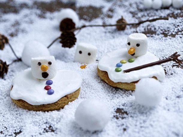 Unser beliebtes Rezept für Schmelzende Schneemann-Cookies und mehr als 55.000 weitere kostenlose Rezepte auf LECKER.de.